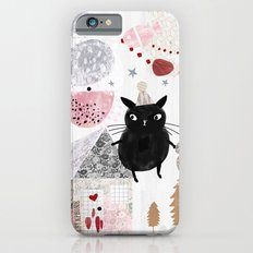 Birthday Cat iPhone 6s Slim Case