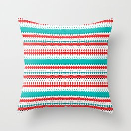 Rombo Pattern Throw Pillow