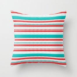 Rombo Pattern Throw Pillow
