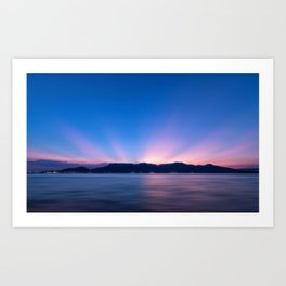 Ray of Light Art Print