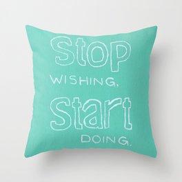 Start Doing - MINT Throw Pillow