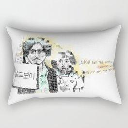 OLDBOY DAESU Rectangular Pillow