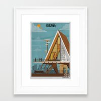 babina Framed Art Prints featuring ARCHINOWHERE 06_study by federico babina