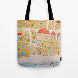 this town Tote Bag