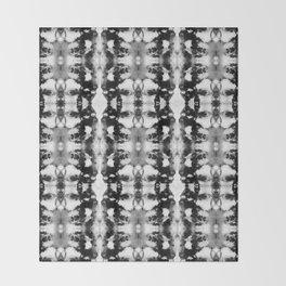 Tie-Dye Blacks & Whites Throw Blanket