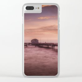 Daybreak at Mumbles Pier Clear iPhone Case