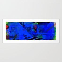 Navigating The Labyrinth series 5 Art Print
