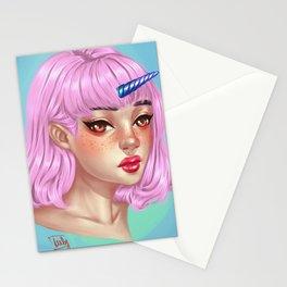 uniorngirl Stationery Cards