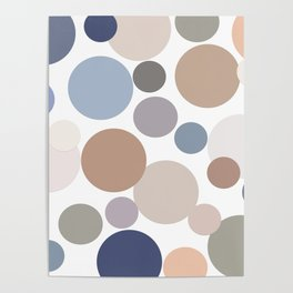 Cool Circle Palette Poster