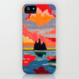 Northern Sunset Surreal iPhone Case