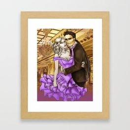 Ivanka and Niko Framed Art Print