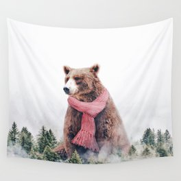 Cold Bear Wall Tapestry