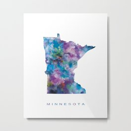 Minnesota Metal Print