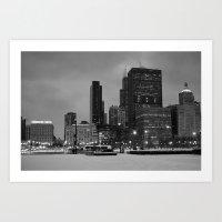 Chicago, Illinois, 2013 Art Print