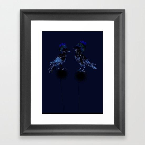 ravens Framed Art Print