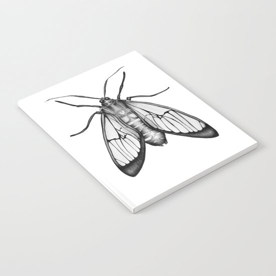 Wasp Moth Notebook