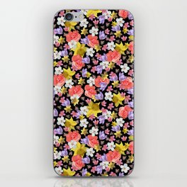 Floral Haze iPhone Skin