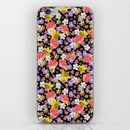 Floral Haze iPhone Skin