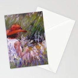 Lavender Picking — L Diane Johnson Stationery Cards