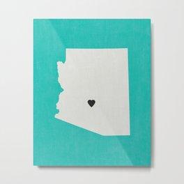 Arizona Love Metal Print