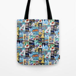 Tomorrowland Vintage Attraction Posters Tote Bag