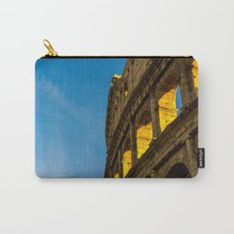 Sunset Over The Roman Colosseum. Carry-All Pouch