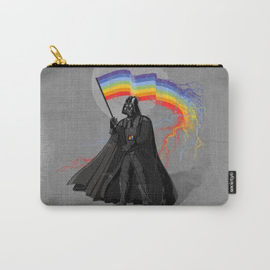 The Rainbow Side of the Force Carry-All Pouch
