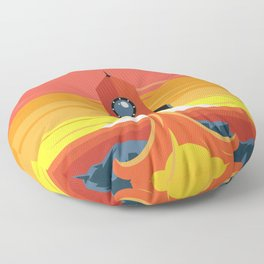 Deco Rocket Floor Pillow