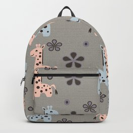 Boy Giraffe Playland Backpack