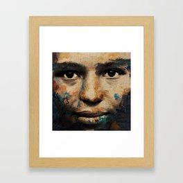 The Human Race 6 Framed Art Print