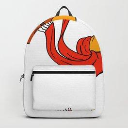 Aviator Camel Goggles Scarf Cartoon Backpack