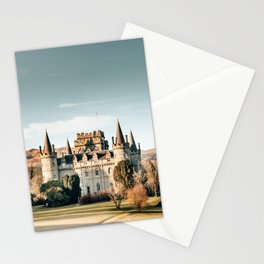 castle in scotland Stationery Cards