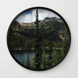 Alpine Lake Wall Clock