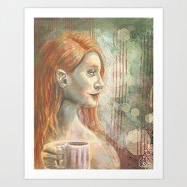 Winter - Mint Art Print