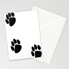 Pawprints Stationery Cards