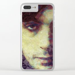 Syd Barrett Clear iPhone Case
