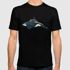 The Turnpike Cruiser of the sea Black Mens Fitted Tee MEDIUM
