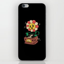 Vinyl Flower iPhone Skin