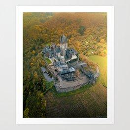 Cochem Castle, Germany Art Print