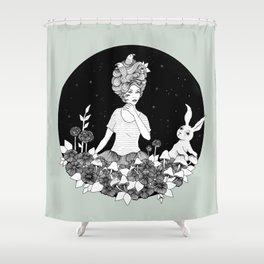 Travelling - Dream of Shining Night Shower Curtain
