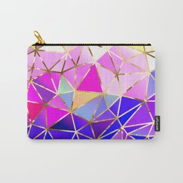 Rainbow Geometric pattern #8 Carry-All Pouch