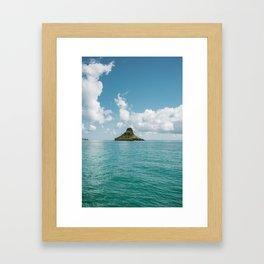 Mokoli'i Framed Art Print