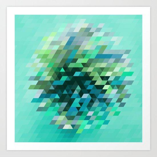 Cluster 2 Art Print