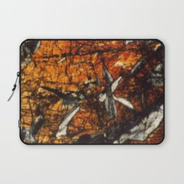 Pyroxene Crystals Laptop Sleeve