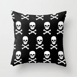 Skuls Throw Pillow