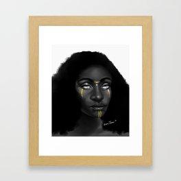 Jaci Takes a Vow Framed Art Print