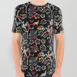 Joshua Tree Tropical by CREYES All Over Graphic Tee