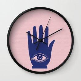 LUCKY HAND Wall Clock