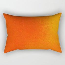 Abstract bright orange Rectangular Pillow