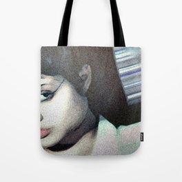 Acid Burn Tote Bag